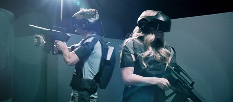 Prvé zábavné centrum virtuálnej reality prenáša hry do reálneho sveta