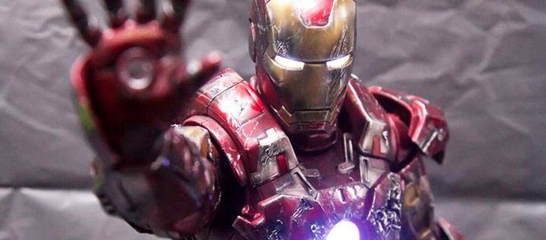 Nádherné customized figúrky Iron Mana