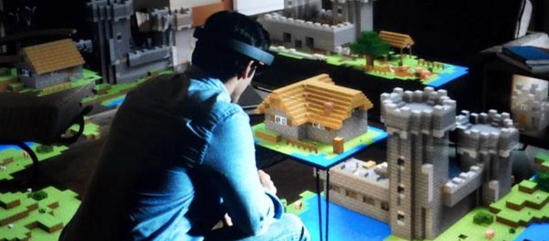 Microsoft oznámil Minecraft pre Microsoft Hololens