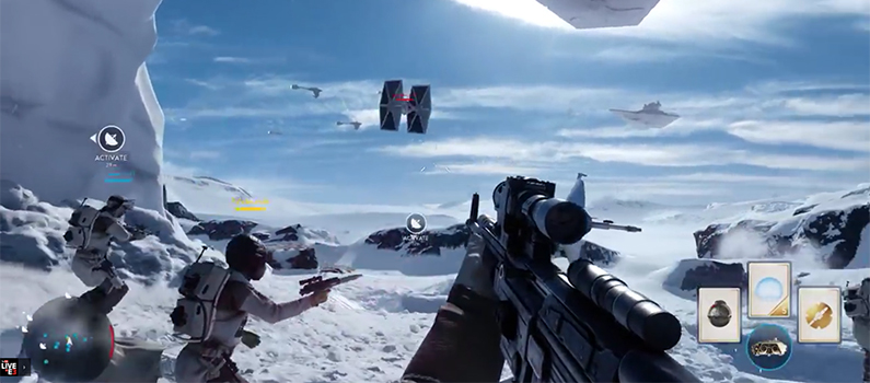 Star Wars Battlefront: Multiplayer Gameplay