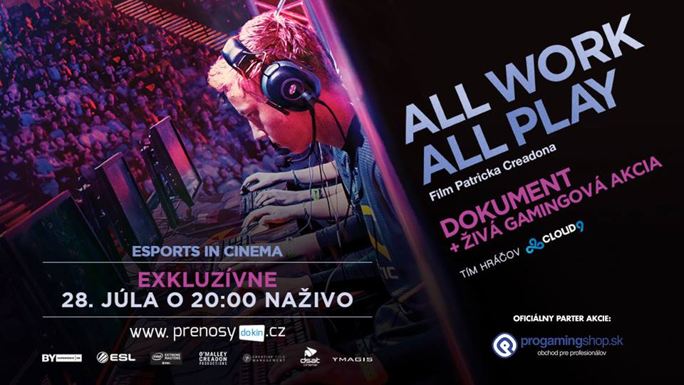 ALL WORK ALL PLAY – eSPORTS in Cinema