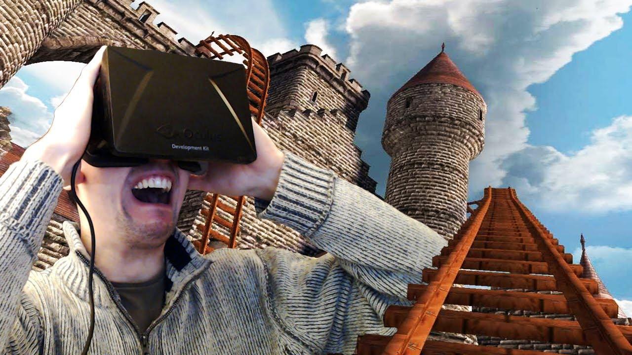 Najlepšie a najzábavnejšie reakcie ľudí na Oculus Rift