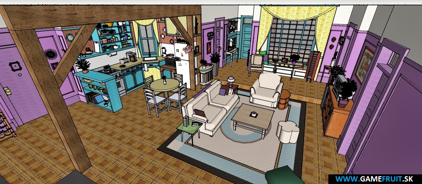 Friends Apartments [003]