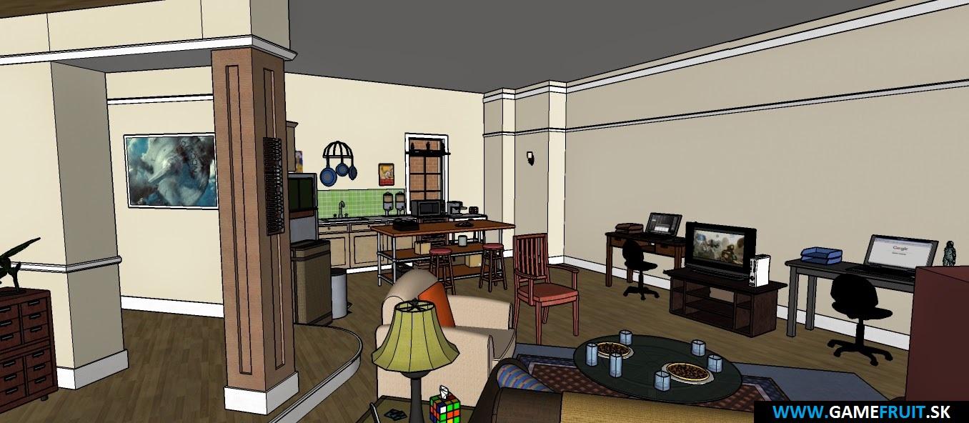 The Big Bang Theory Apartments 2014 [004]