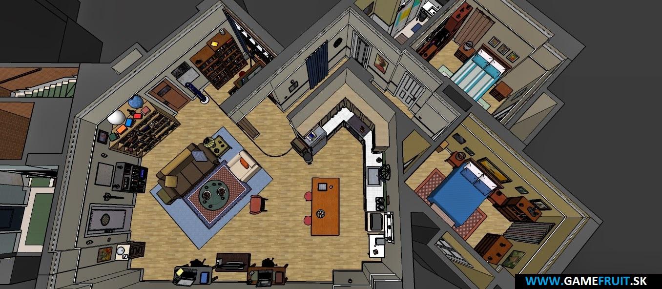 The Big Bang Theory Apartments 2014 [010]