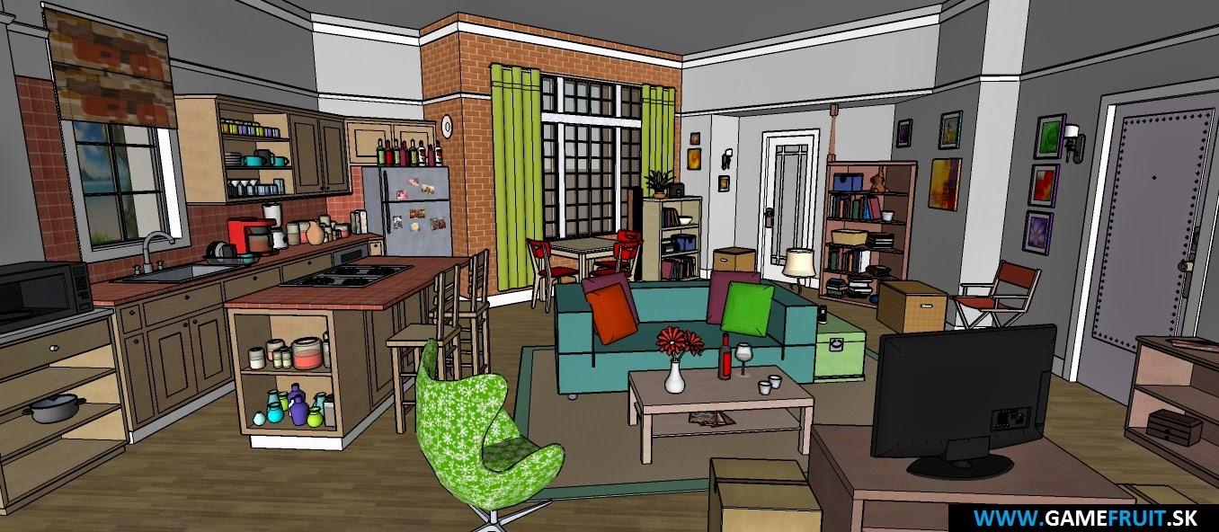 The Big Bang Theory Apartments 2014 [012]