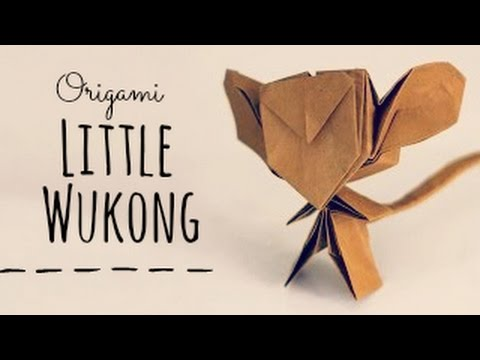 Ako si vyrobiť Origami #5 – Little Wukong