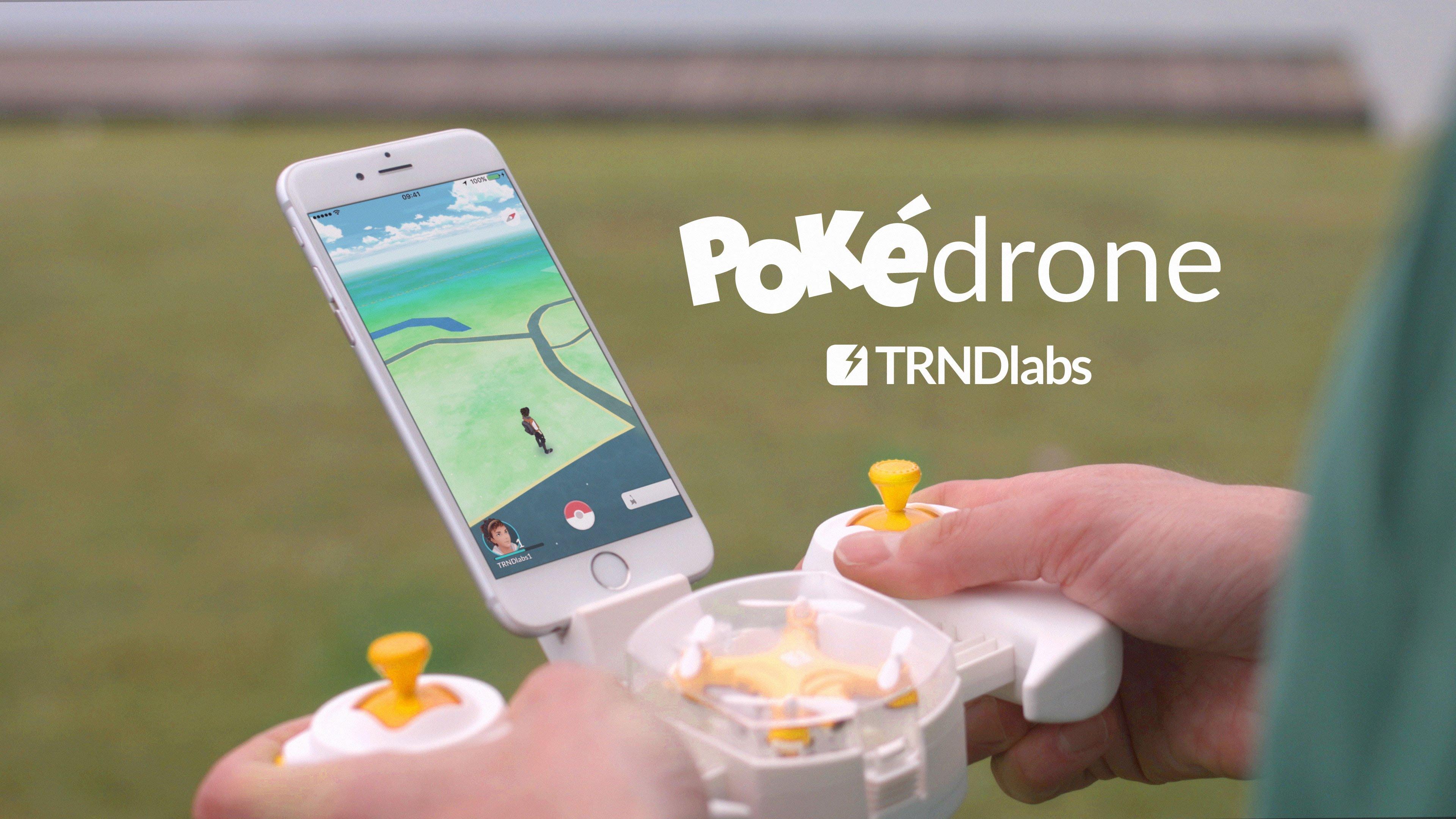 TRNDlabs Pokédron je riešenie, ktoré dodáva silu chytiť všetkých Pokémonov!