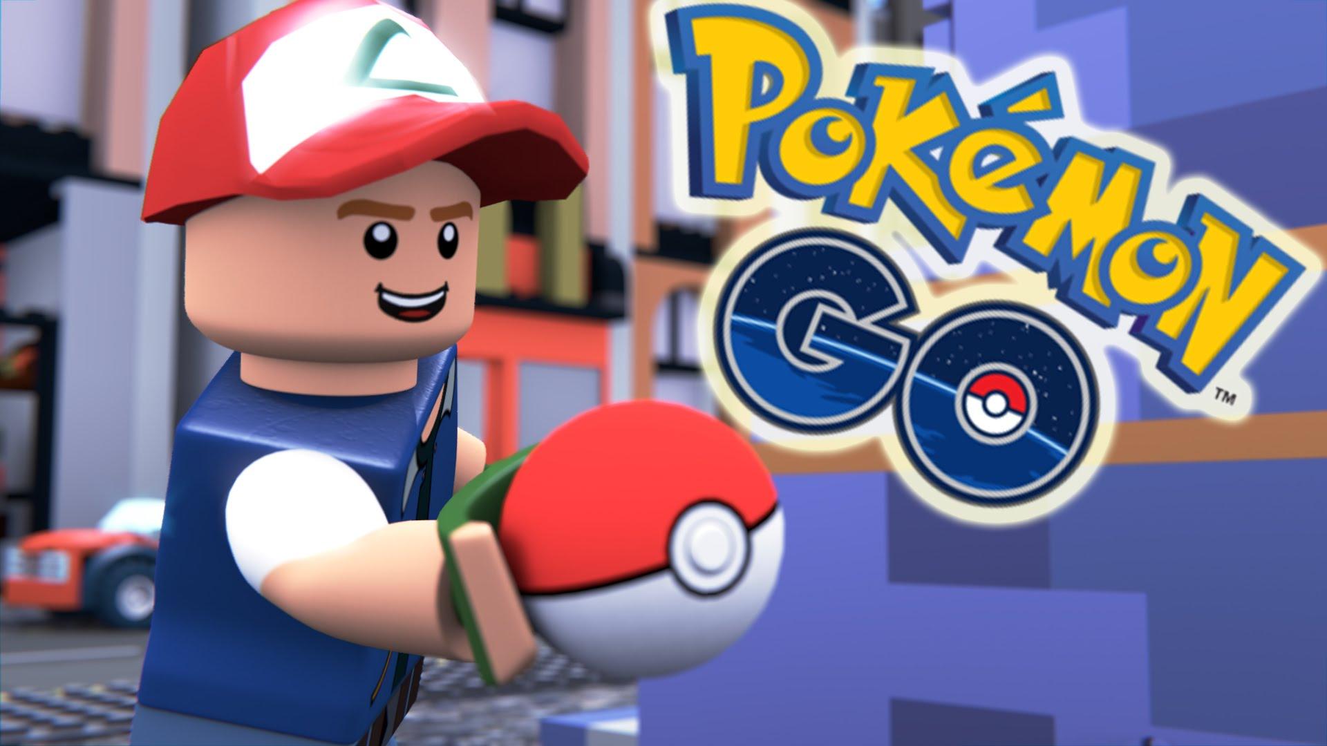 Pokémon GO v LEGO svete