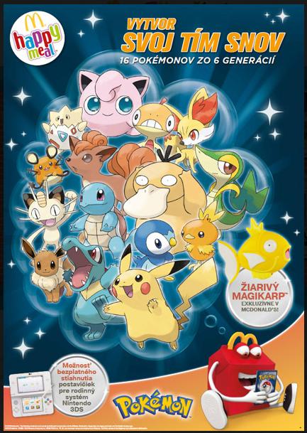 Pokémoni v Mekáči
