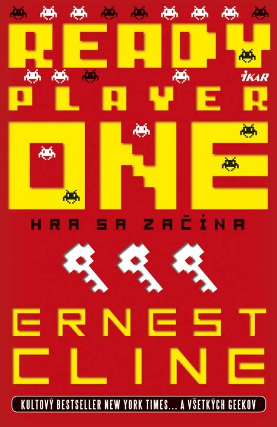 Recenzia – Ernest Cline – Ready Player One – Hra sa začína