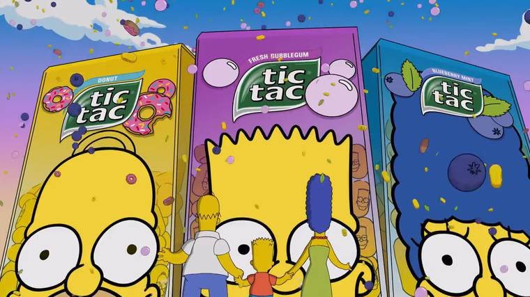 Toto musíš vidieť! Blázniva rodinka Simpsonovcov a Tic Tac ti prináša limitku – Tic Tac Simpsons