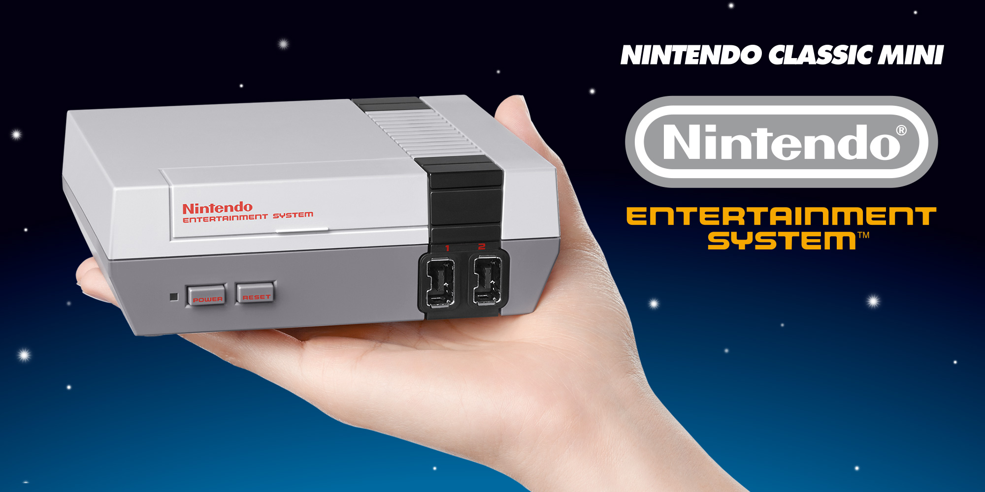 Nintendo Classic Mini Entertainment System (NES) – UNBOXING