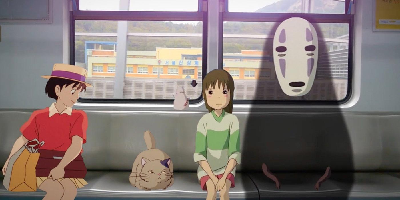 Štúdio Ghibli v skutočnom živote