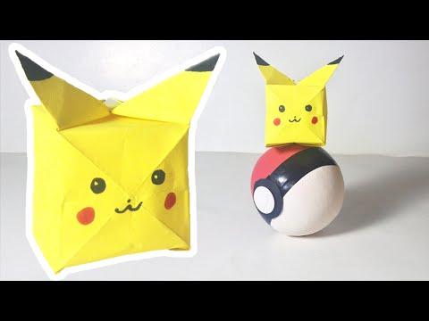 Ako si vyrobiť origami #17 – Pokémon GO – Pikachu