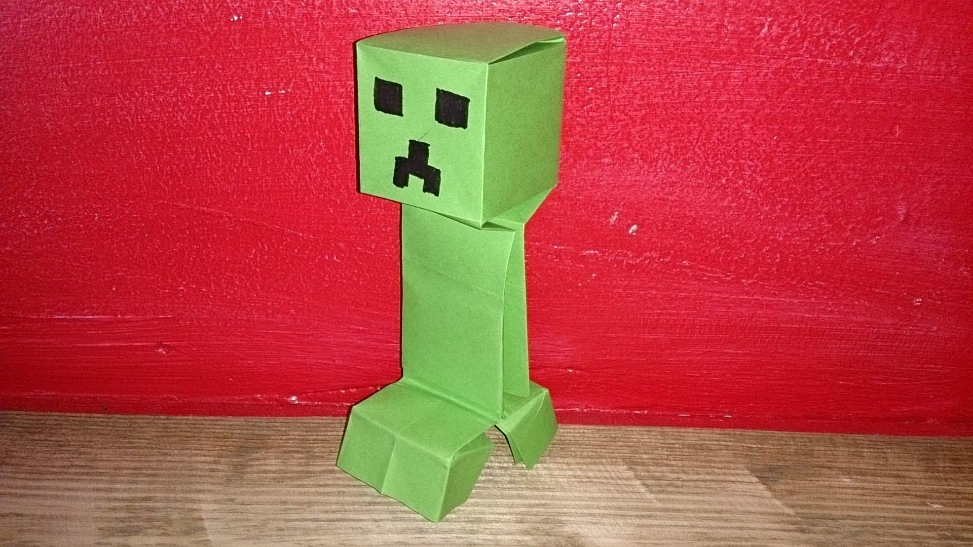 Ako si vyrobiť origami #20 – Creeper