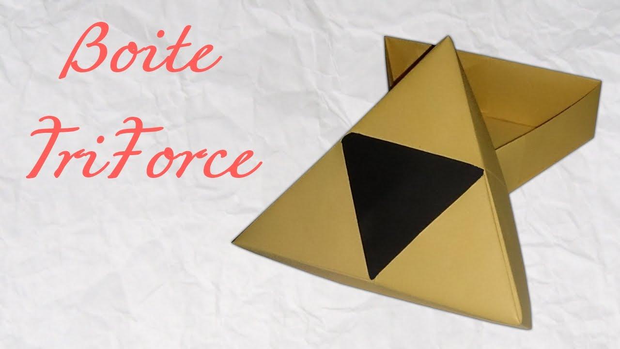 Ako si vyrobiť origami #21 – Zelda box