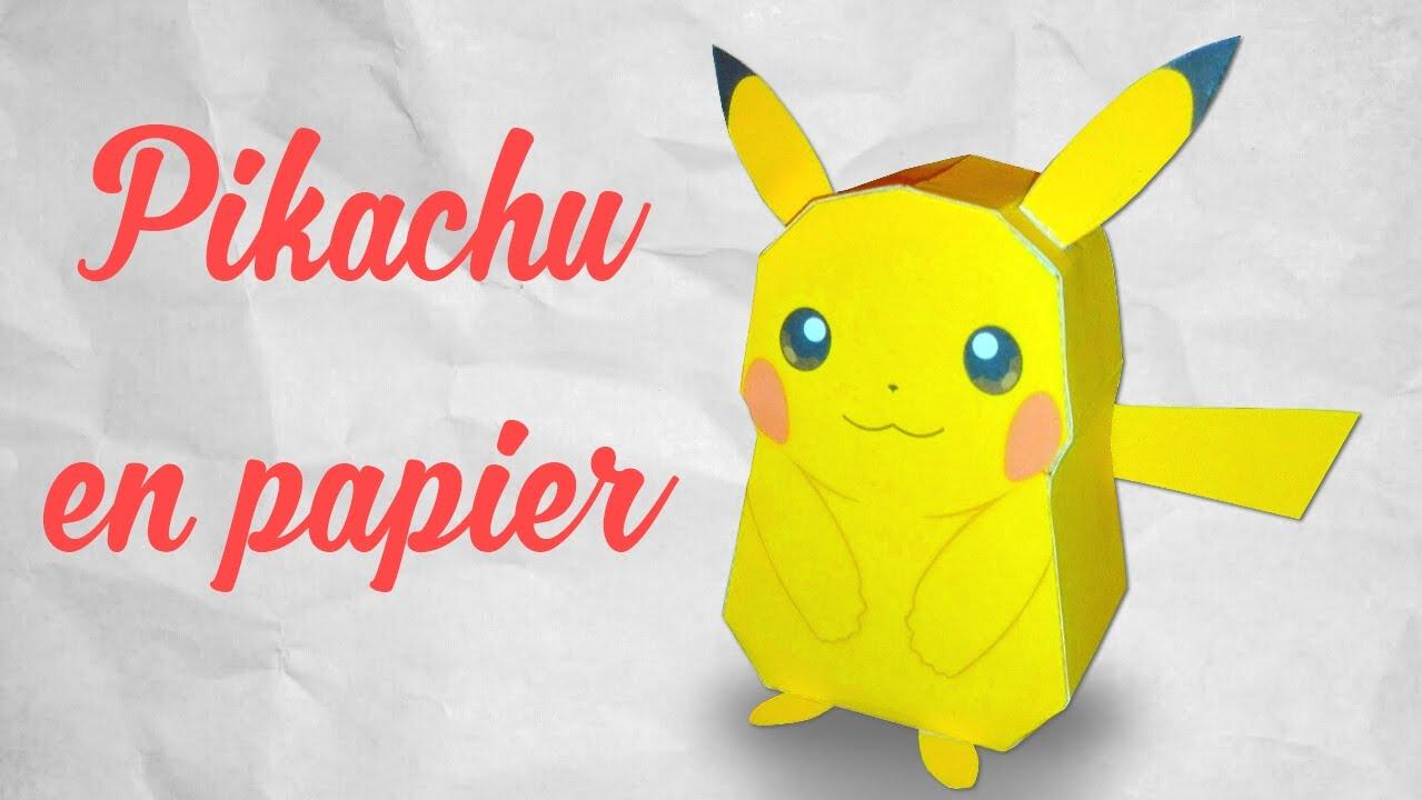 Ako si vyrobiť origami #18 – Pokémon GO – Pikachu 3D