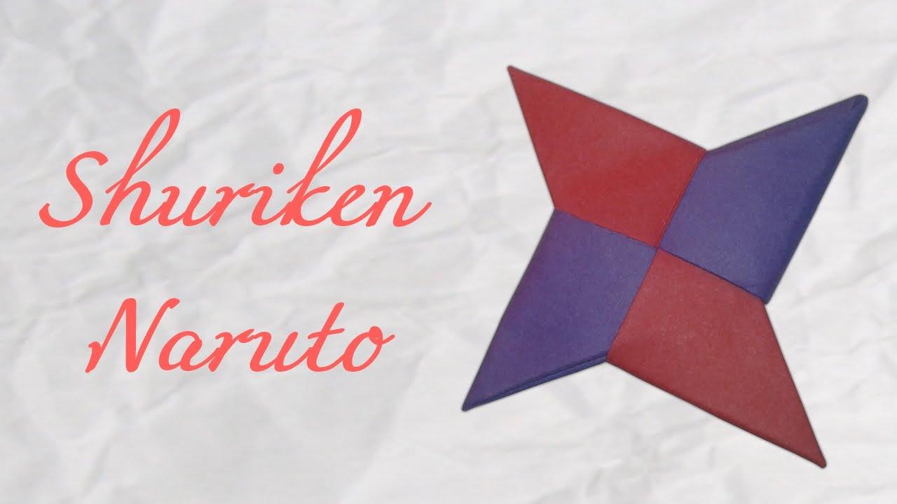 Ako si vyrobiť origami #19 – Shuriken de Naruto
