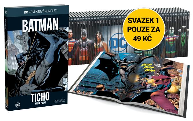 DC Komiksový komplet sa blíži
