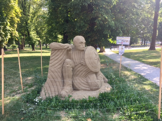 Sand WonderPark Košice – Festival pieskových sôch – Téma: HRDINOVIA