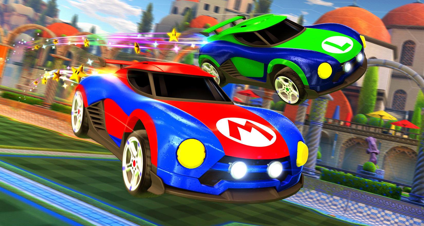 Do Rocket League prichádzajú autá exkluzívne pre Nintendo Switch