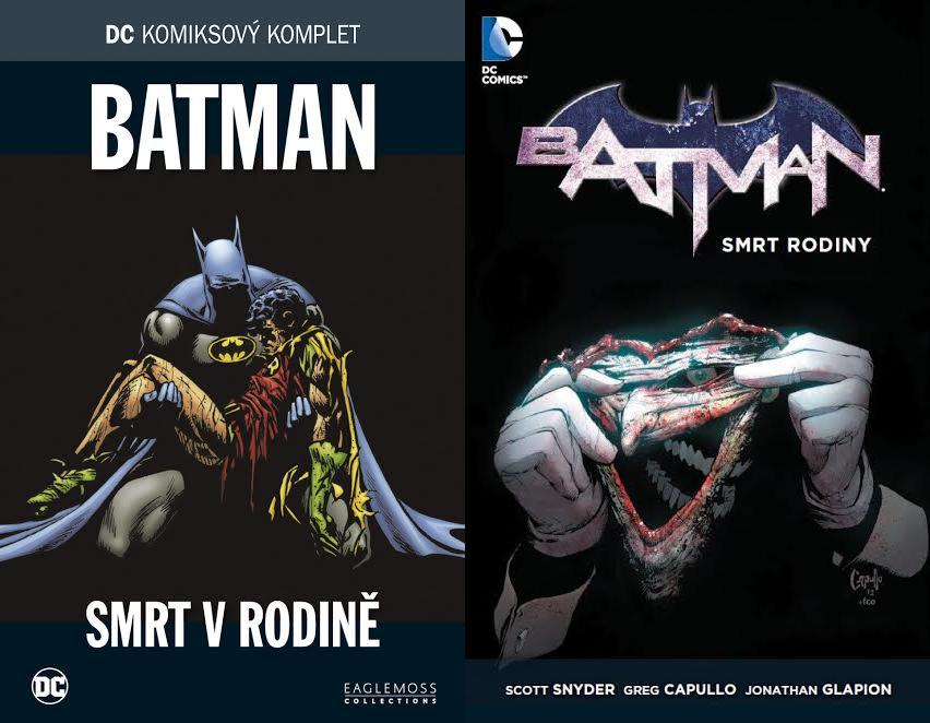 DC KOMIKSOVÝ KOMPLET #18 – Batman – Smrt v rodině + Batman – Smrt rodiny