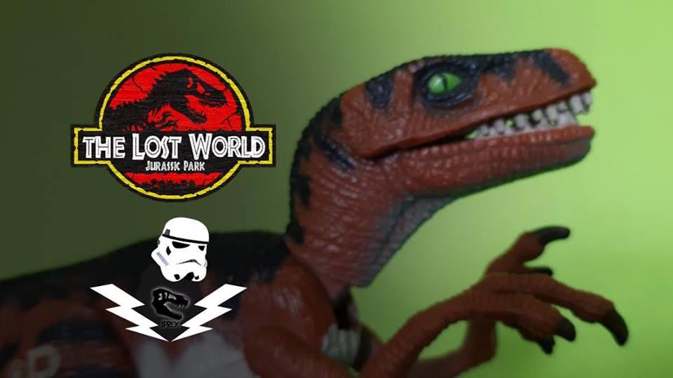JPrexové recenzie na figúrky #4 – Velociraptor | Kenner THE LOST WORLD: JURASSIC PARK | Recenzia s JPRexom