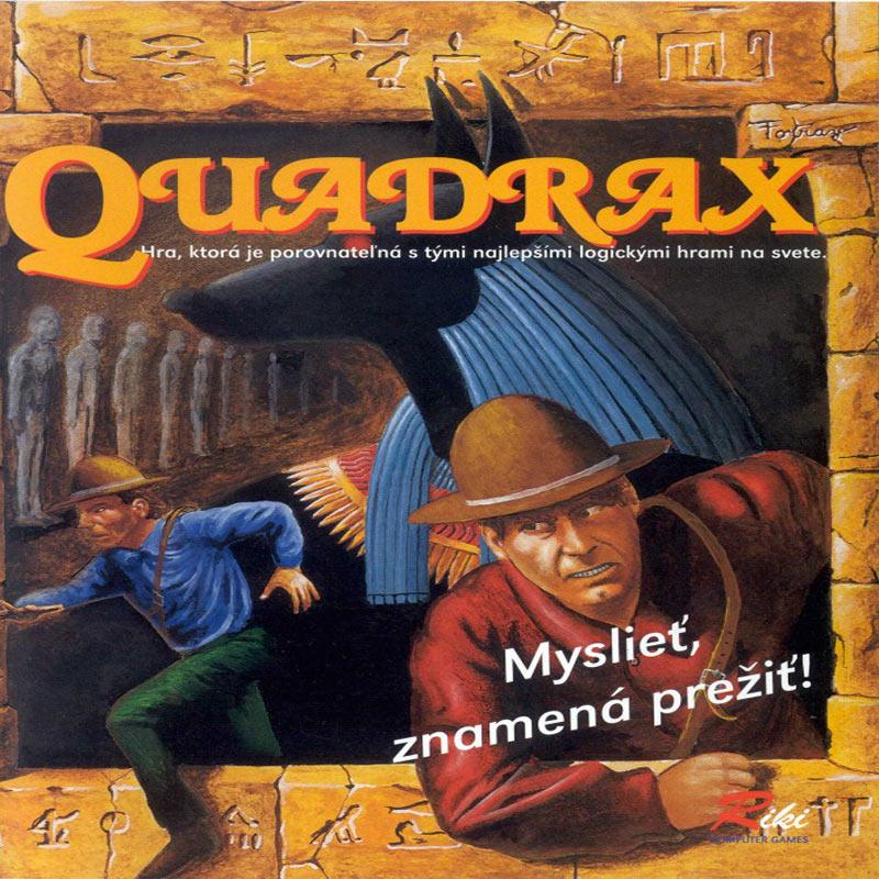 Legendárna slovenská hra – Quadrax + rozhovor s Mariánom Ferkom – spolutvorcom kultovej slovenskej hry Quadrax