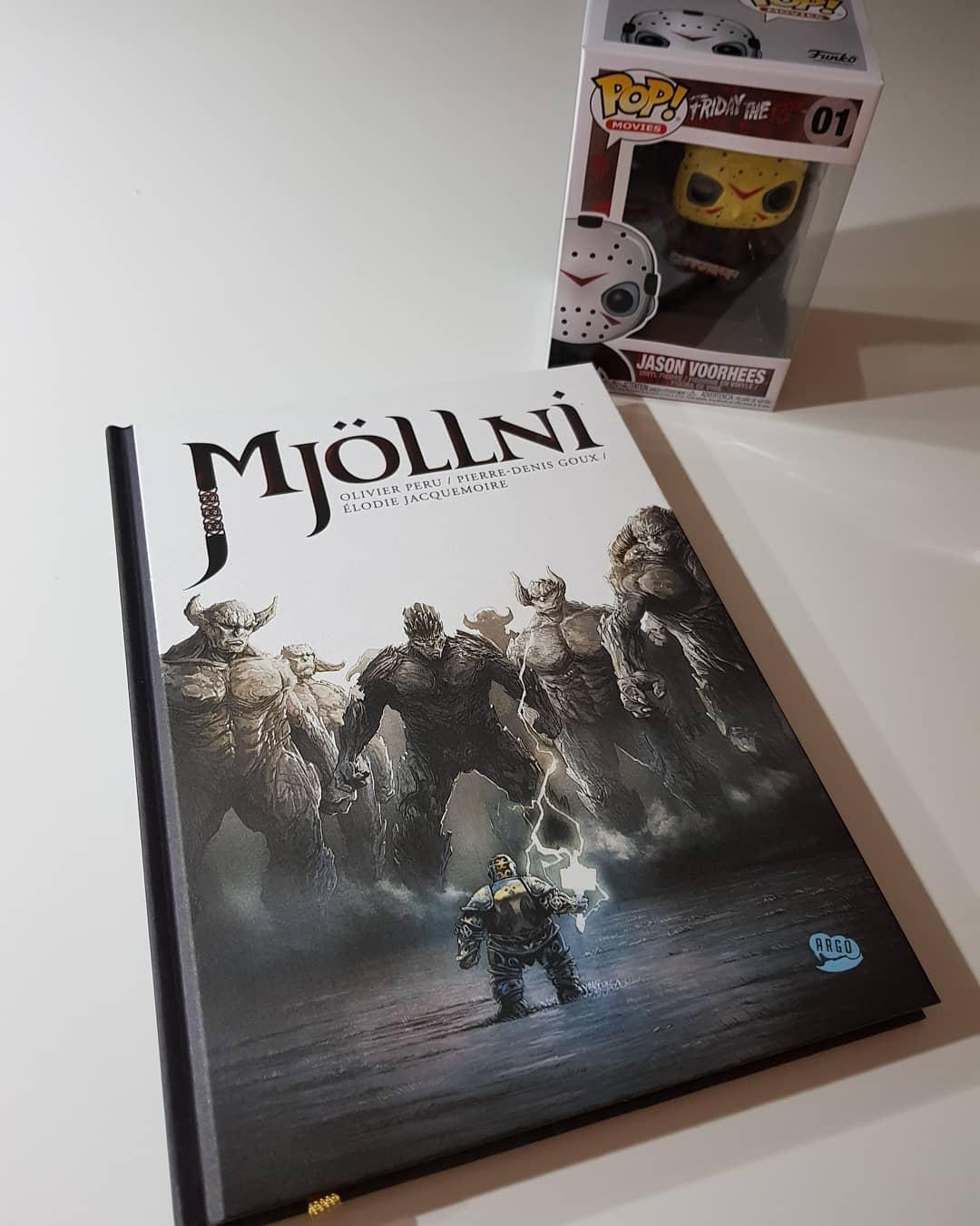 Mjöllni – českými kritikmi ocenená komiksová kniha. A čo na to Frodo? Nič, nie je v nej.. i keď…