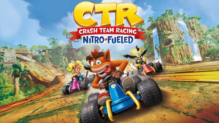 GAME STREAM #8 – Crash Team Racing – Live PS4 Broadcast – Gamefruit.sk